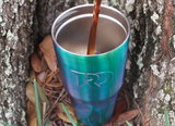 Twisted 30 oz Tumbler (UV Blue) - Coffee
