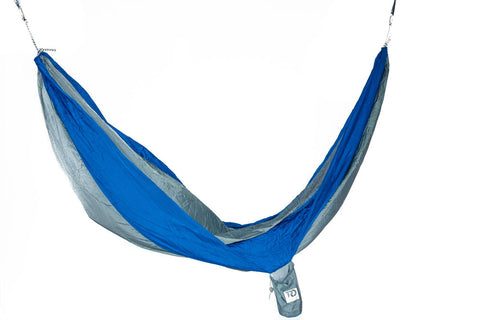Twisted Double Hammock - Smoke Grey/Blue
