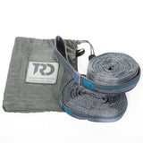 Twisted Tree Straps - Grey