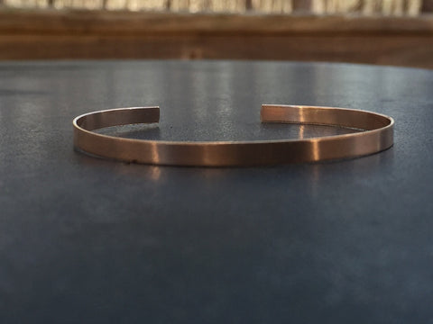 7a28180b815 4mm 14k Rose Gold Filled Stamped Cuff Layering Bracelets for Women -  Customize It - Bridesmaids