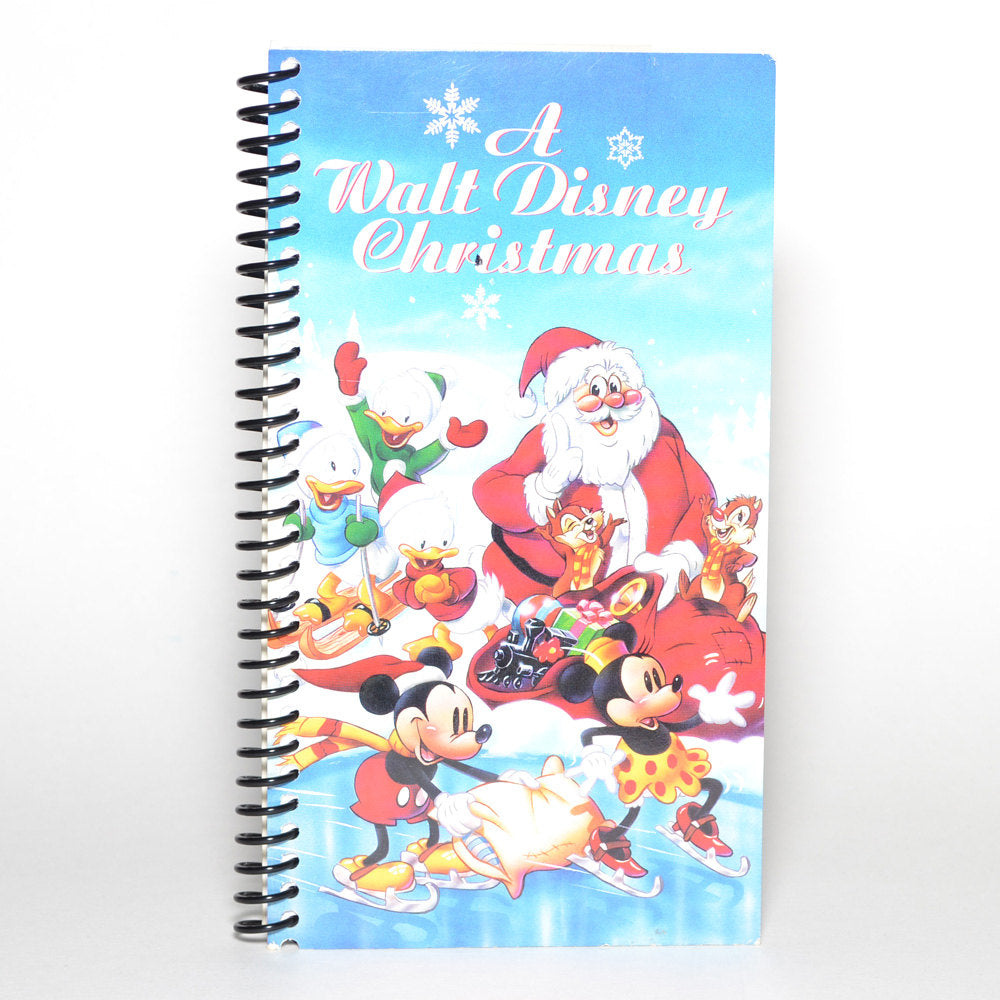 A Walt Disney Christmas Original VHS Box Spiral Notebook Journal ...