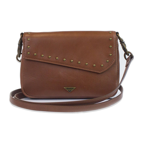 Ella Leather Crossbody Crossbody Jentou