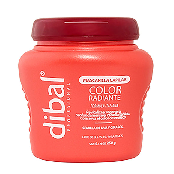 Dibal - Mascarilla Color Radiante 250 grs