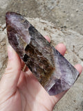 Super Seven Included Amethyst Point