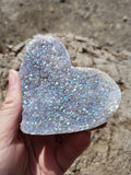 Angel Aura Amethyst Heart