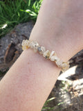 Rutilated Quartz Bracelets