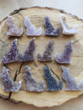 Amethyst Howling Wolves