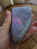 Rare Purple Labradorite Freeform