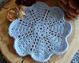 "6"" Crochet Cotton Doilies"