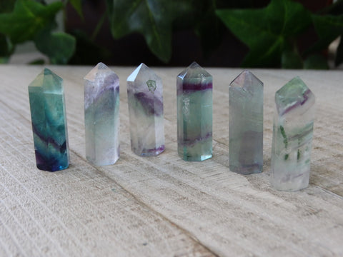Polished Fluorite Points