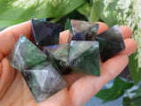 "1.2"" Polished Fluorite Octaherdron Crystals"