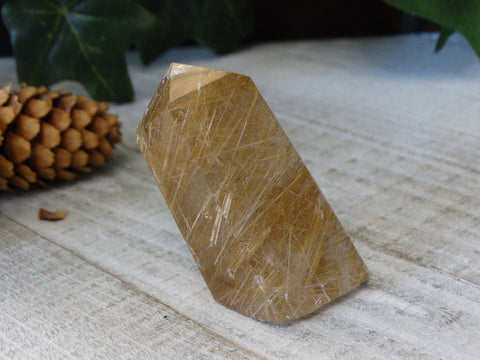 "2.4"" Polished Garden Quartz Point"