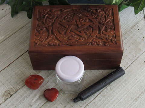 Prosperity Spell Set B - Carnelian and Red Jasper