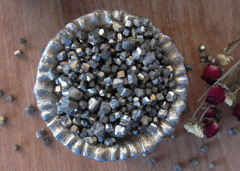 50 grams sets of Rough Pyrite Crystals