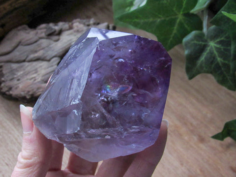 "2.8"" Amethyst Crystal with Polished Tip"
