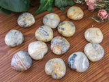 "1.5"" Crazy Lace Agate Hearts"