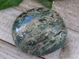 "2.5"" High Quality Ocean Jasper Palm Stone"