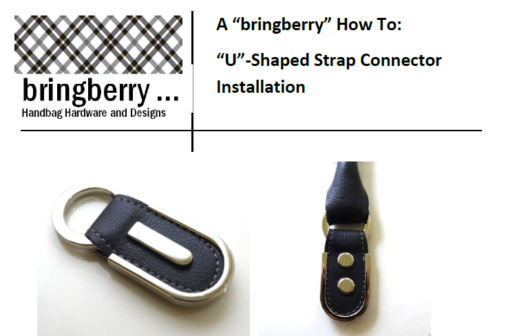 U-Shaped Strap Connector Tutorial - PDF Download – bringberry