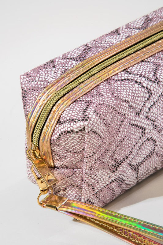 snake wristlet (purple) - Marcella