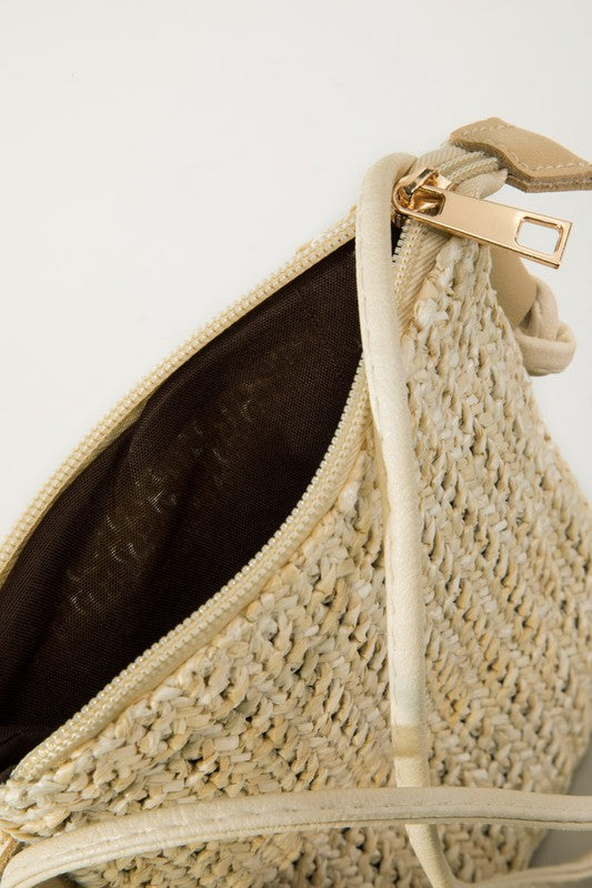 woven cross body bag - Marcella