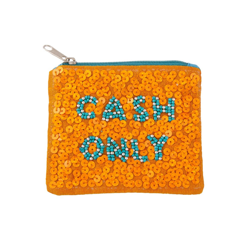 cash only coin purse