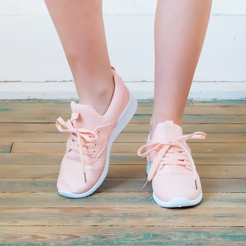 Run For It Sneaker (pink) - Marcella