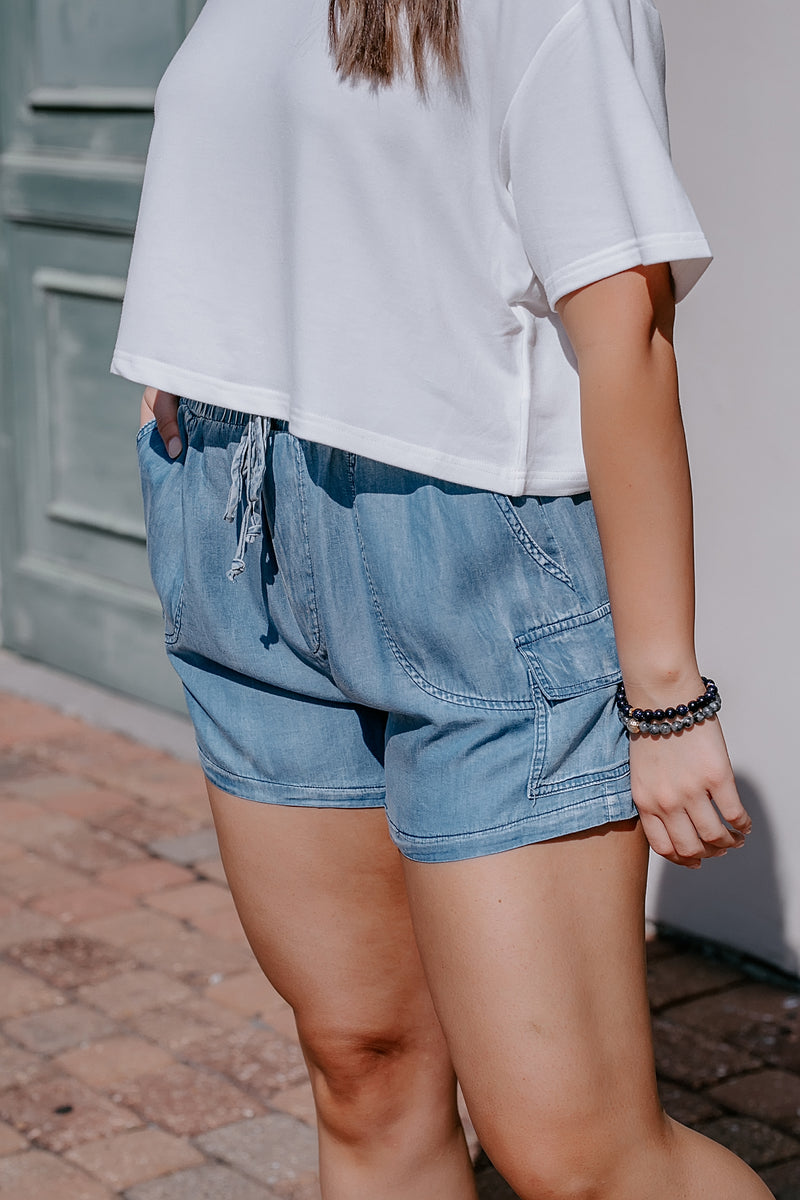my favorite chambray shorts