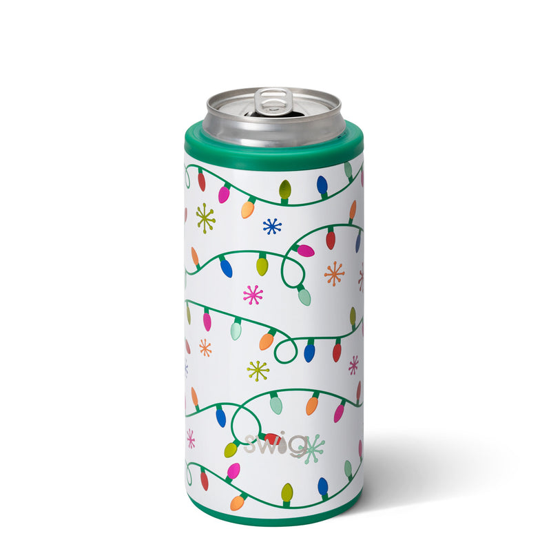 Swig Skinny Can Cooler (let it glow)