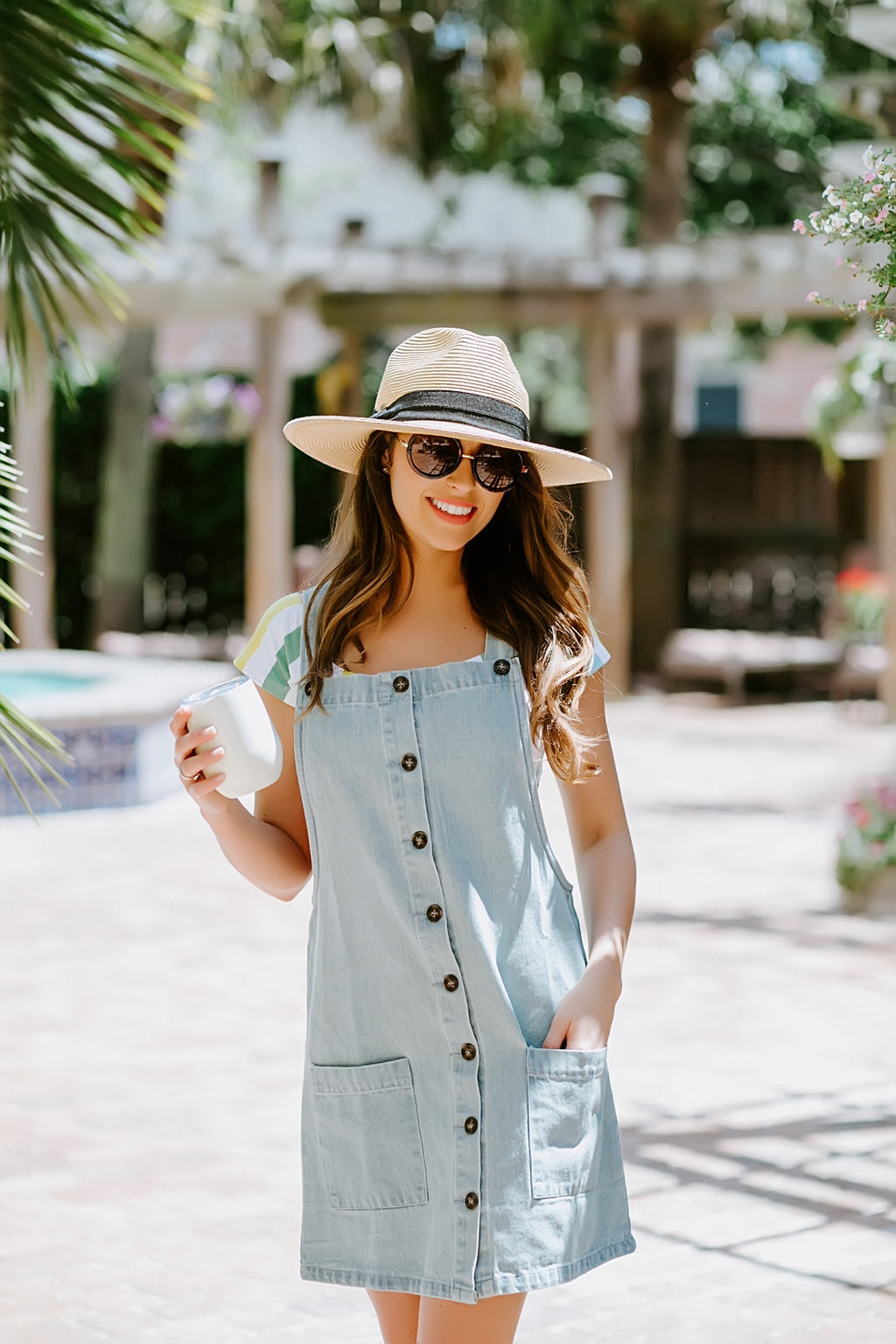 Overall Amazing Denim Dress - Marcella