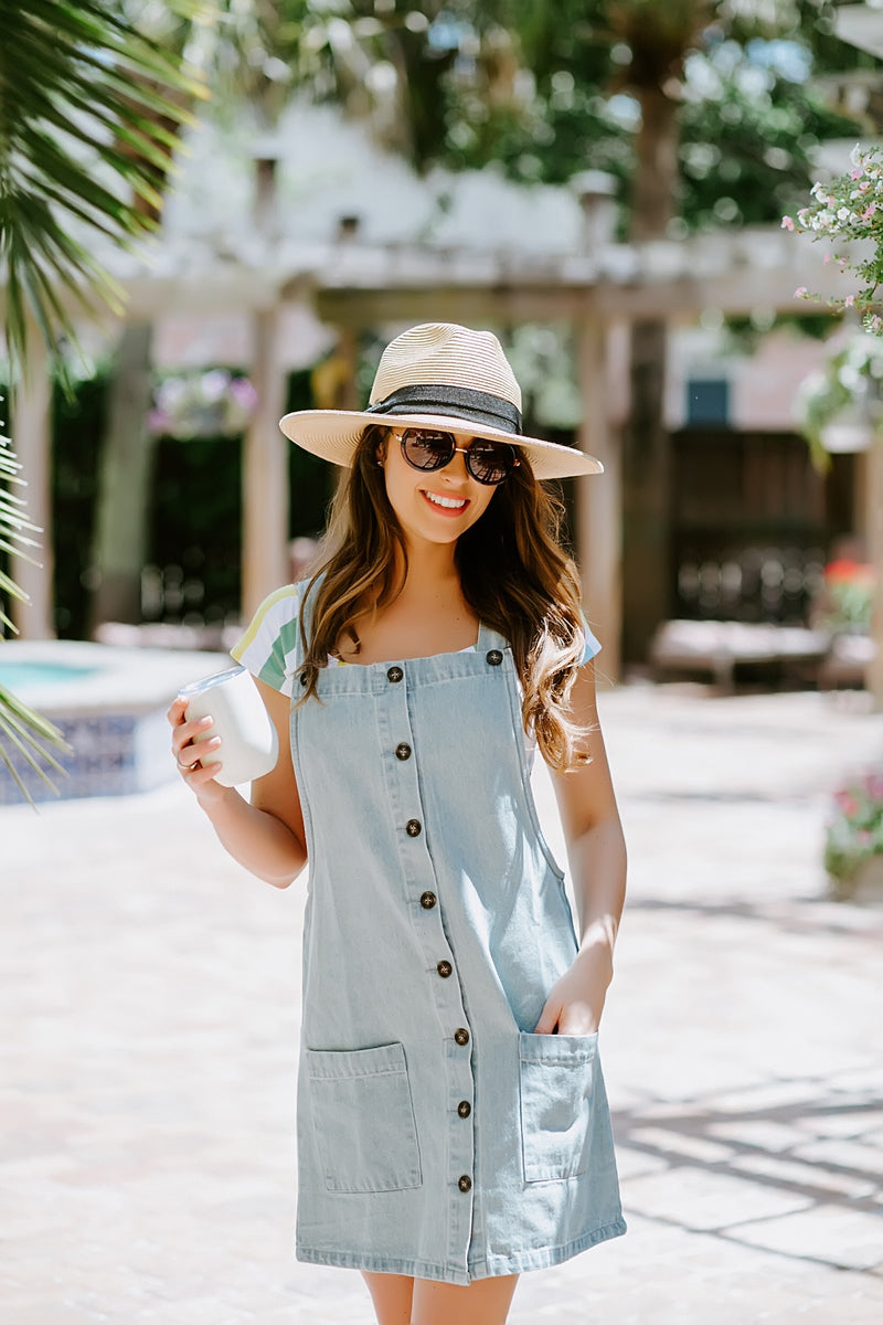 Overall Amazing Denim Dress
