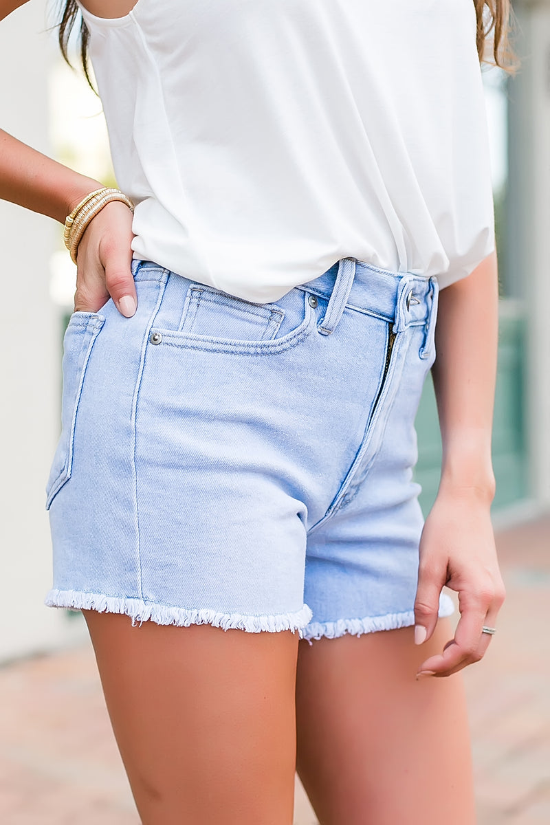 JBD frayed denim shorts