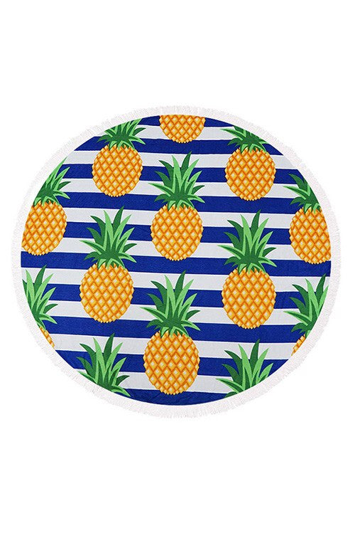 Round beach towel - Marcella