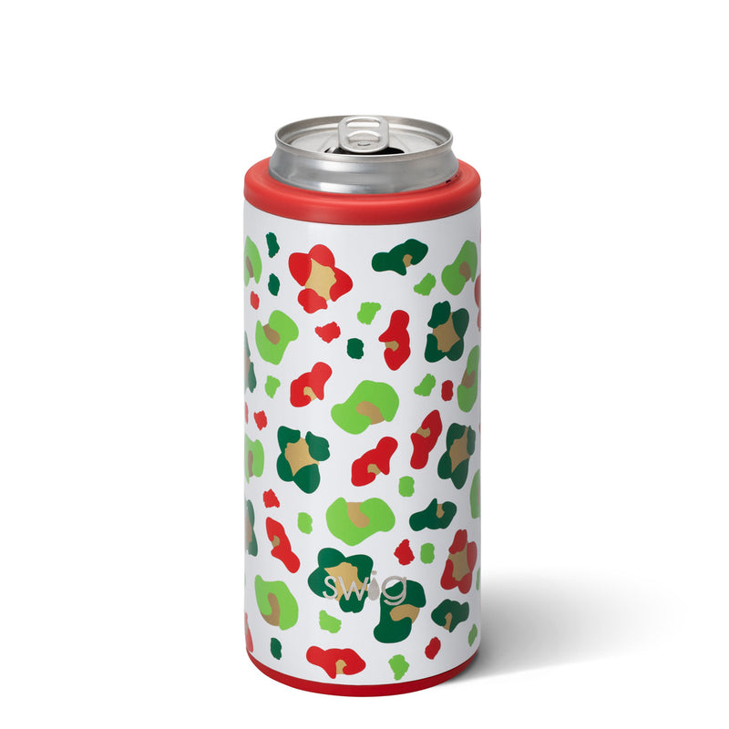 Swig Skinny Can Cooler (jingle jungle)