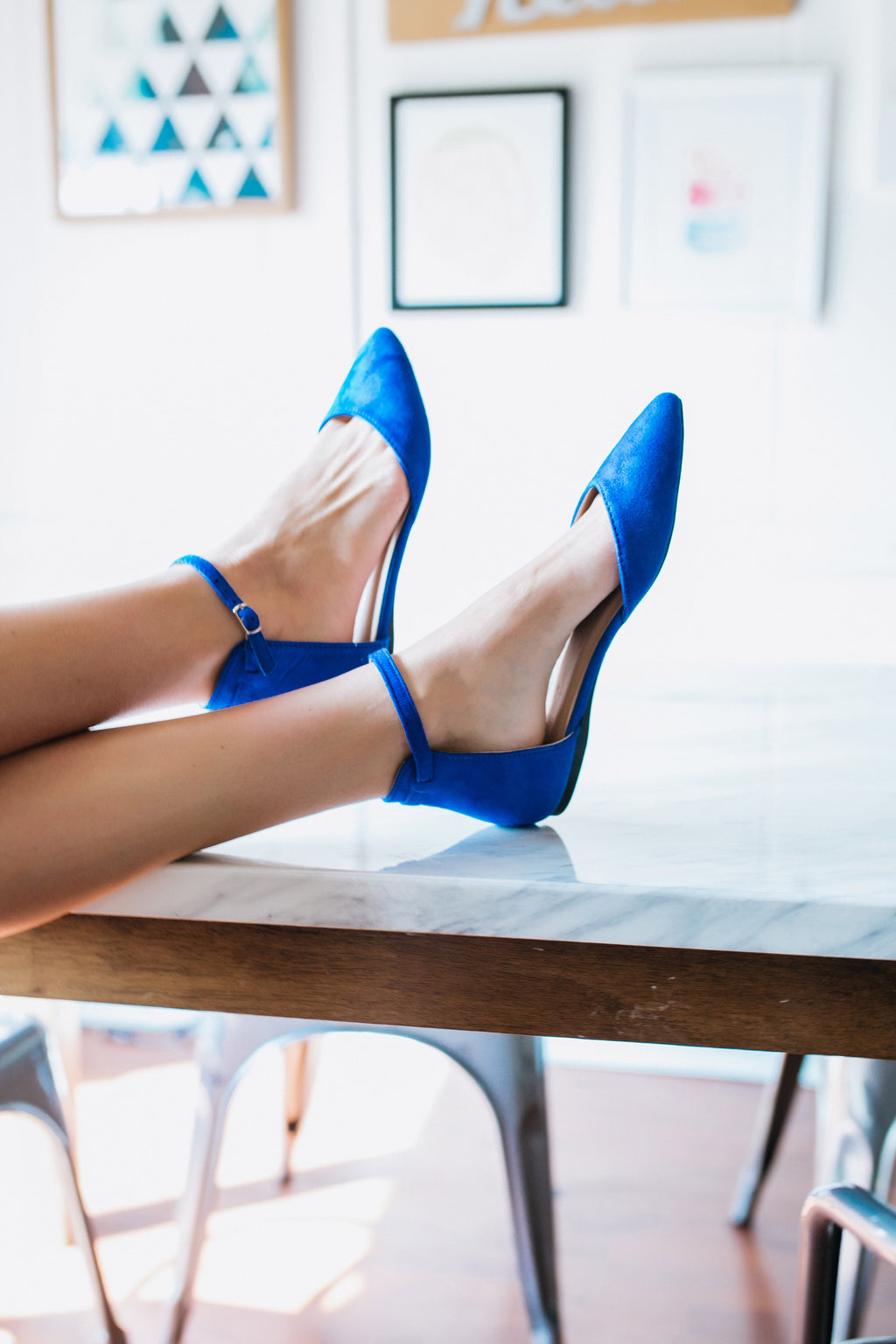 My Blue Suede Shoes - Marcella