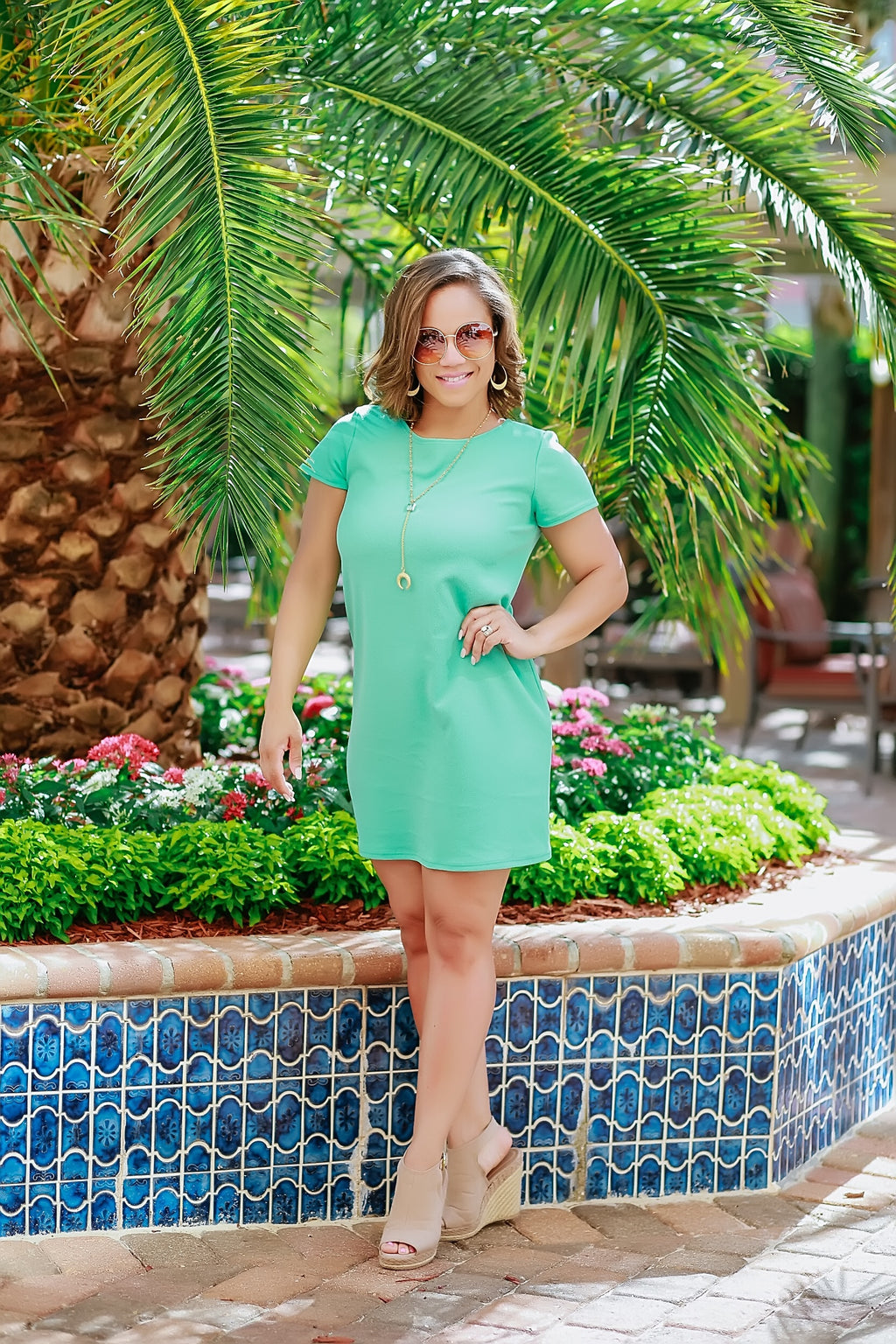 Pretty in Mint Dress - Marcella