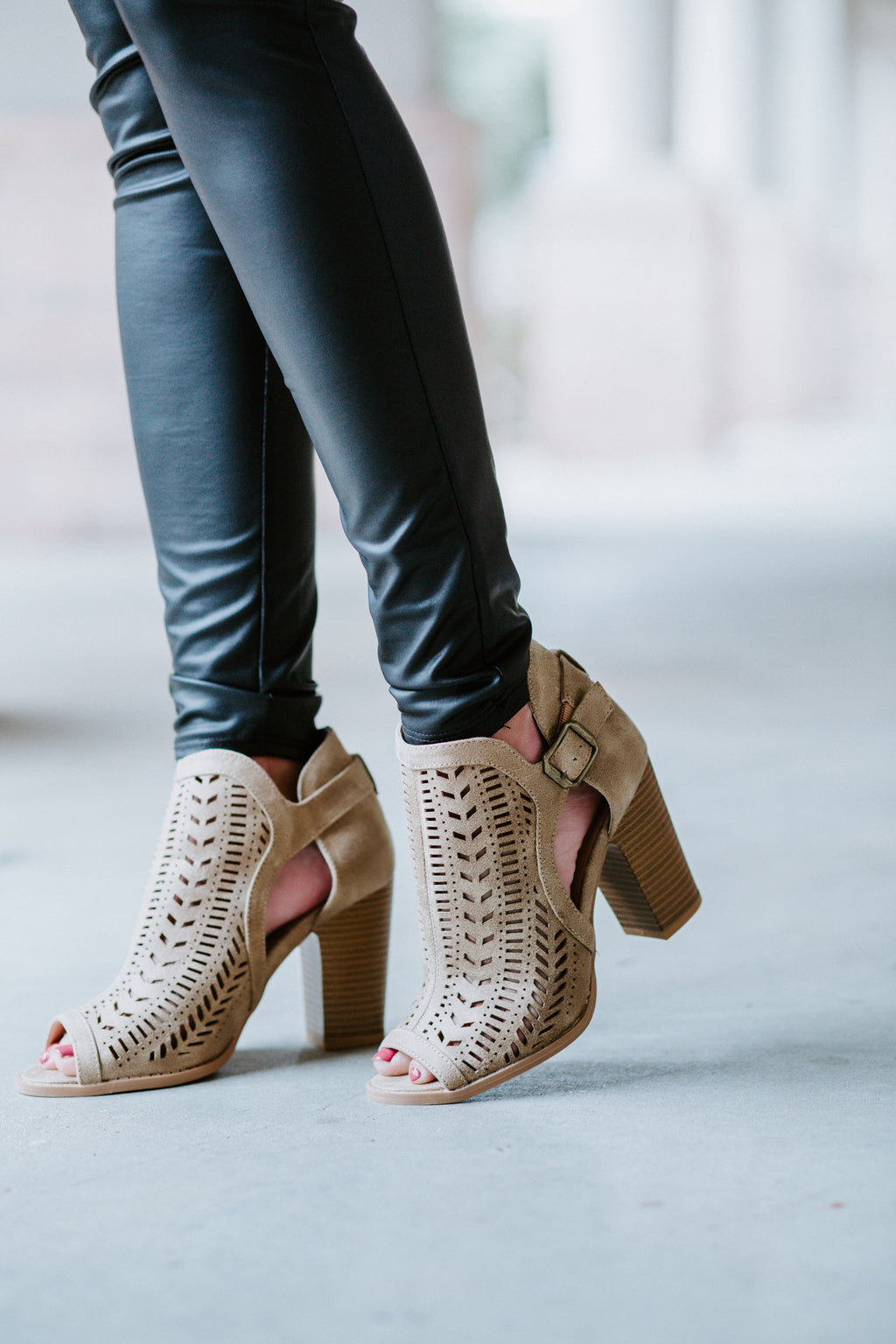 Double Take Booties - Marcella