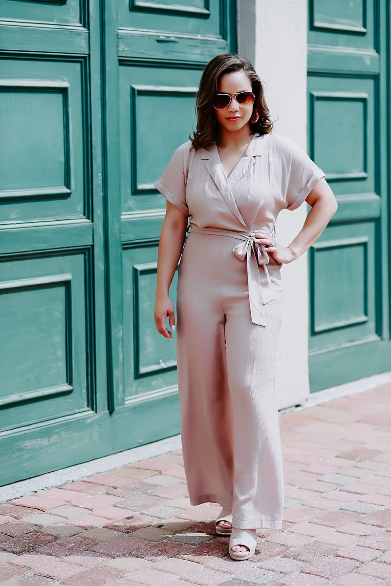 jump into chic jumpsuit - Marcella
