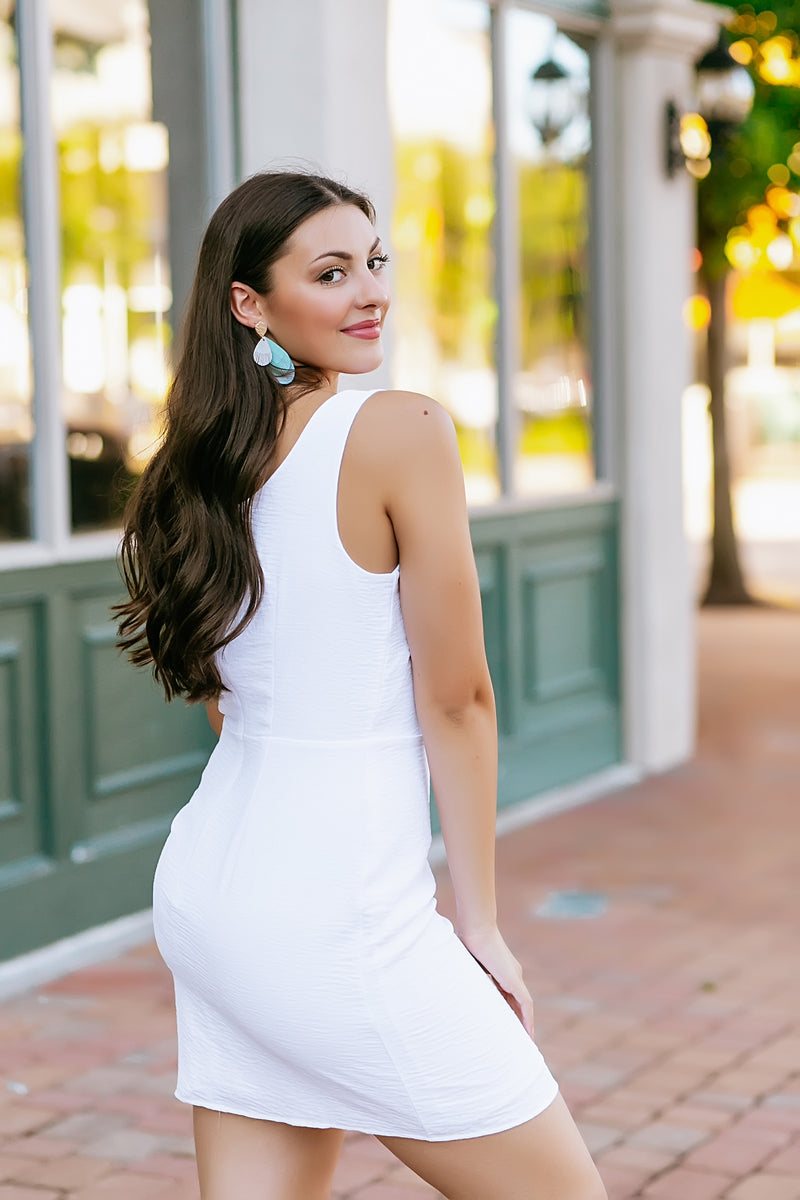 Layla White Dress