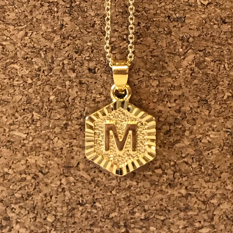 Initial Necklace - Marcella