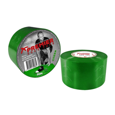 Premier Sock Tape 38mm Shin Guard Retainer Tape - Green