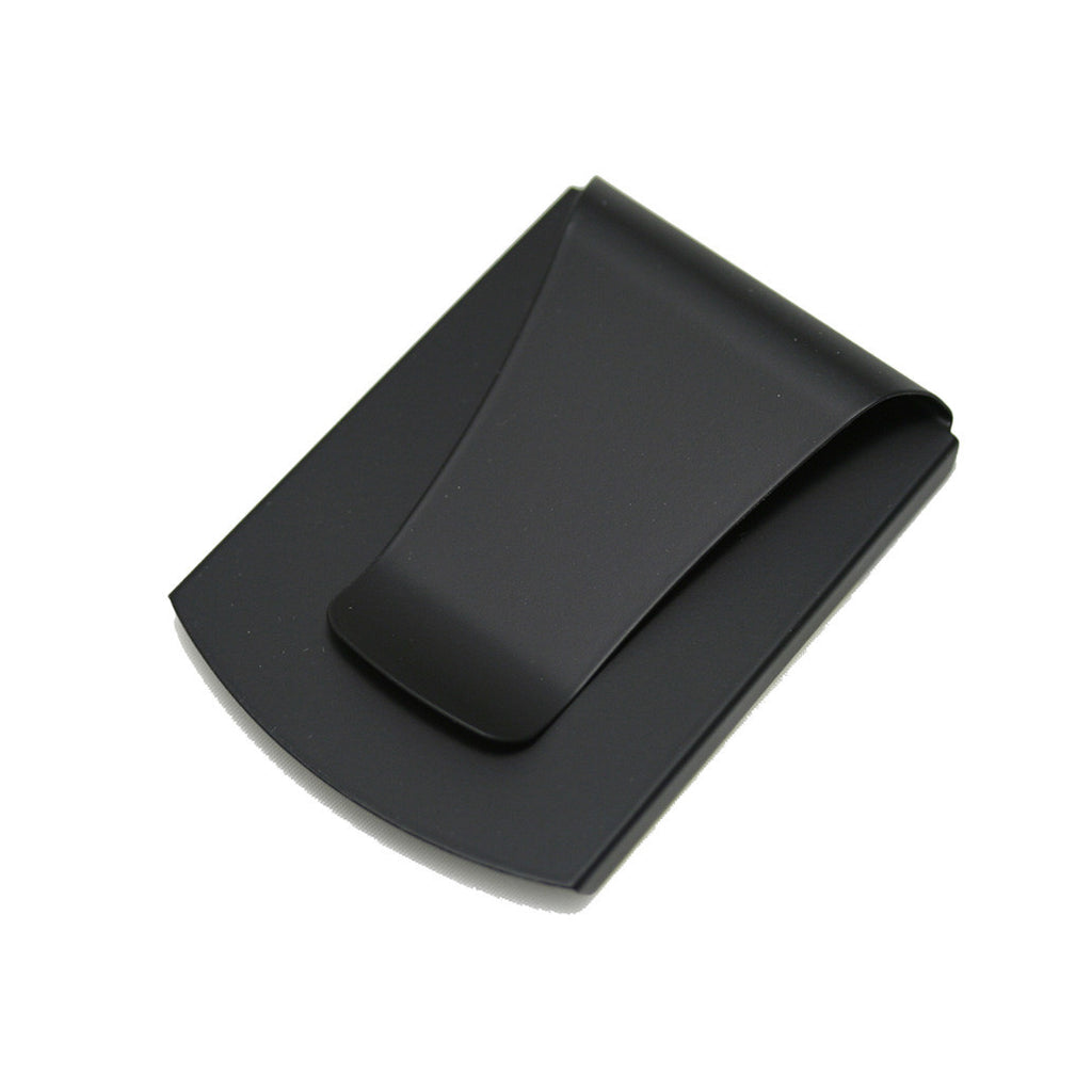 Smart Money Clip® - Black Soft Touch with Rubberized Finish