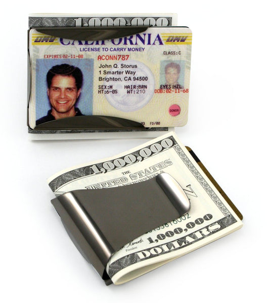 Smart Money Clip® - Gun Metal
