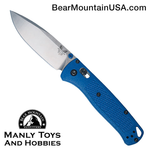 Benchmade Bugout AXIS Lock Knife Blue (3.24