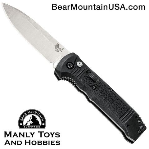 Benchmade 4400 Casbah Automatic Knife Black Grivory (3.4