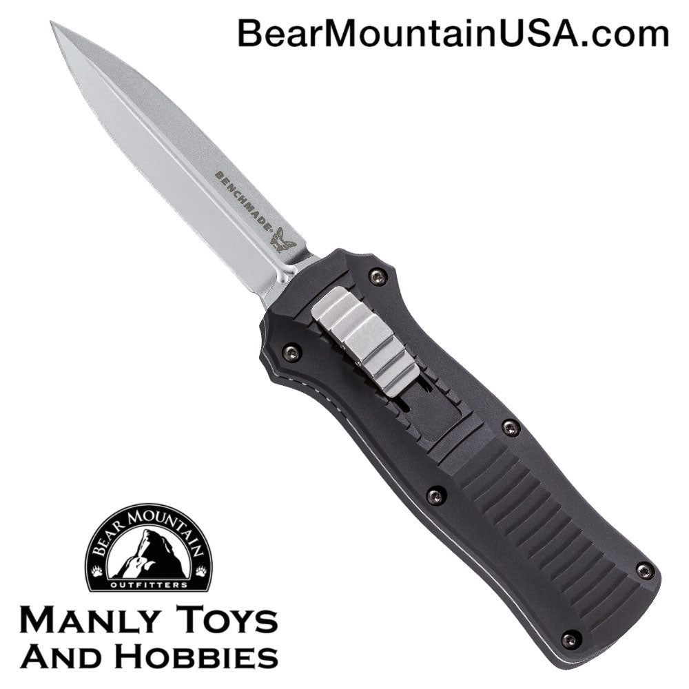 "Benchmade Mini Infidel OTF Automatic Knife (3.10"" Satin) 3350"