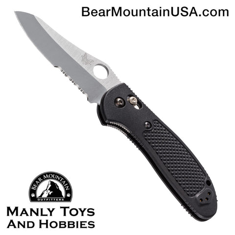 Benchmade Griptilian AXIS Lock Knife Black (3.45