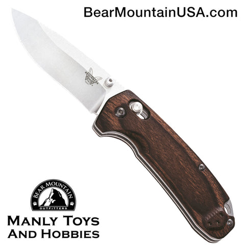 Benchmade North Fork AXIS Lock Knife Wood (2.97