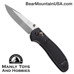 "Benchmade Griptilian AXIS Lock Knife Black (3.45"" Satin) 551"