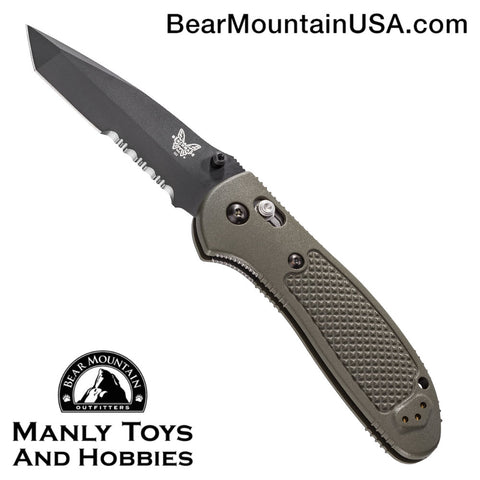 Benchmade Griptilian AXIS Lock Knife Olive Drab (3.45