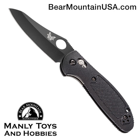Benchmade Mini Griptilian AXIS Lock Knife Black (2.91